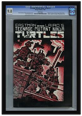 Metal Graded Magazine & Oversized Comic Frame