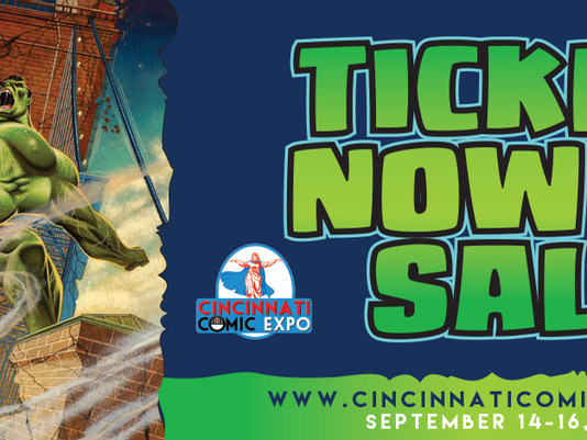 2018 Cincinnati Comic Expo Booth# 421