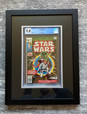 CGC Graded 9.8 Star Wars #1 Framed by ECC Frames