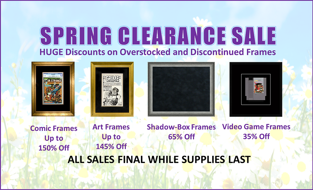 2019 Spring Clearance Sale