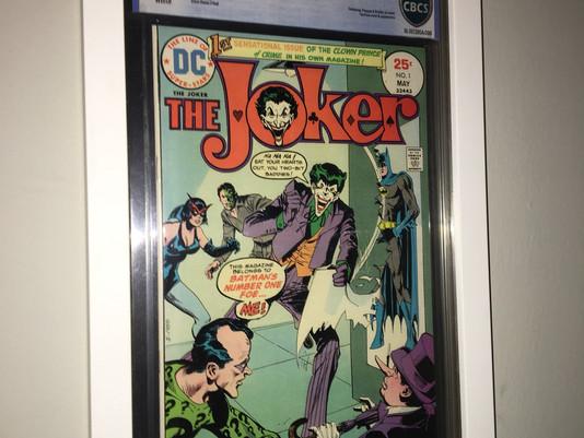 CBCS Graded Joker Comic Framed by ECC Frames