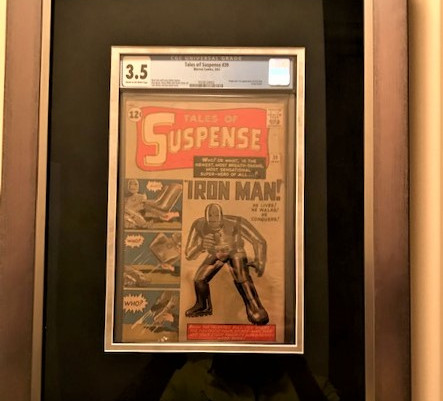 Tales of Suspense 39 - 1st Appearance of Iron Man Framed by ECC Frames
