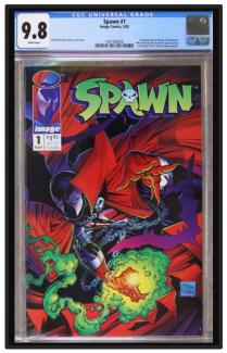 Metal Graded Comic Frame