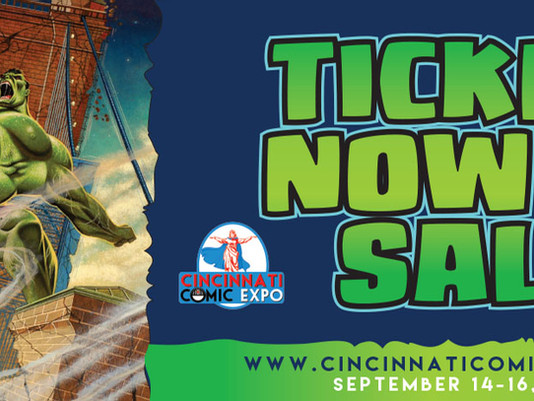 ECC Frames Exibiting at 2018 Cincinnati Comic Expo