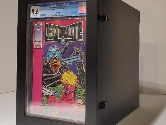 Storage Box for CGC / CBCS Graded Comics by ECC Frames