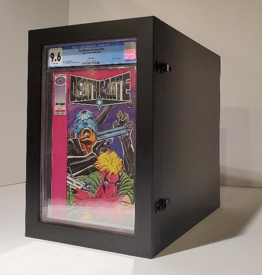 Storage Box for CGC / CBCS Graded Comics by ECC Frames