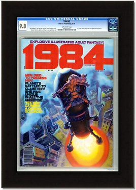 Economy Graded Magazine & Oversized Comic Frame