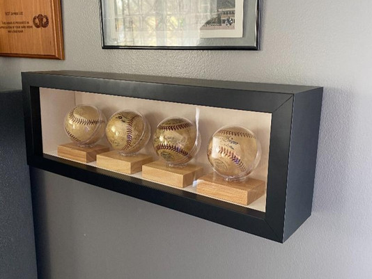 Baseball Display Case by ECC Frames