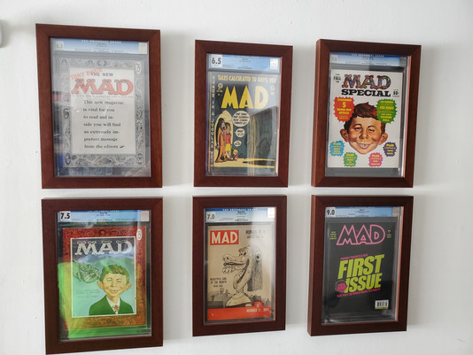 MAD Magazine Collection Framed by ECC Frames