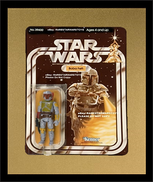 Action Figure Single Card Frame