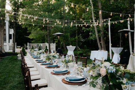 coastal blue wedding