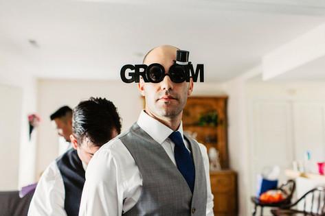 goofy groom