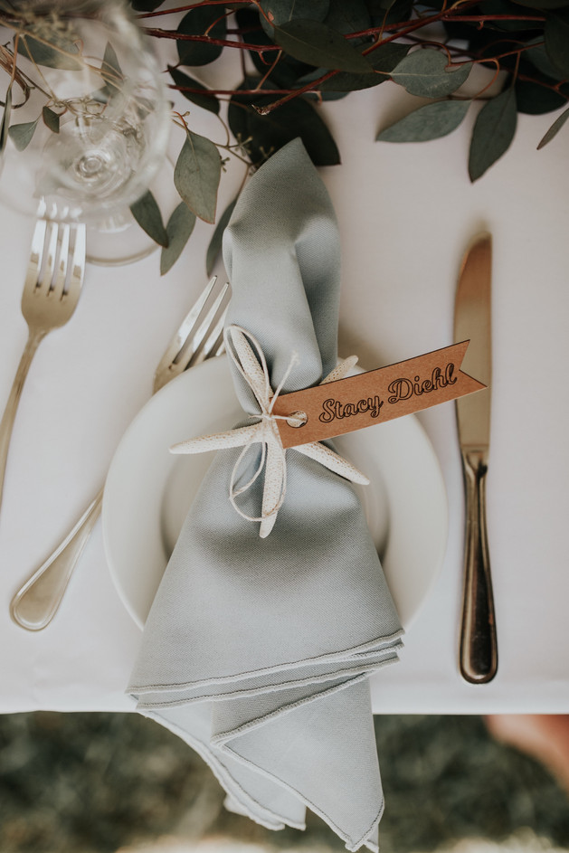 starfish placecards