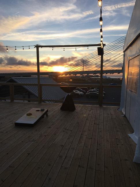 free sunset with any event at Big Chill