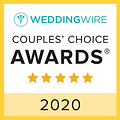 White Tie Events 2020 Weddingwire Badge