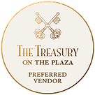 White Tie Events is a preferred vendor at The Treasury on the Plaza in St. Augustine Florida