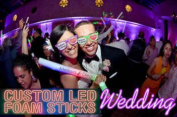 Custom LED FOAM sticks Jacksonville and St. Augustine
