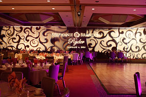 String Lighting, Monograms, Logo Projections jacksonville, FL and St. Augustine, FL