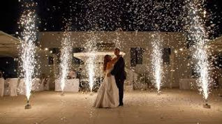 Cold Spark Effects Weddings Jacksonville, Fl and St. Augustine, Fl