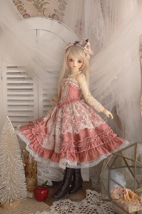 古いバラのお洋服 セット