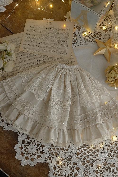 [古いバラのお洋服]スカート