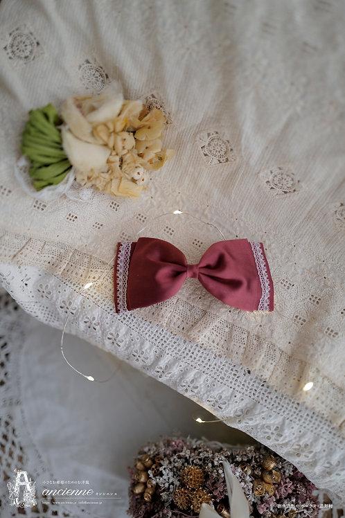 [Paulette]リボンのヘッドドレス