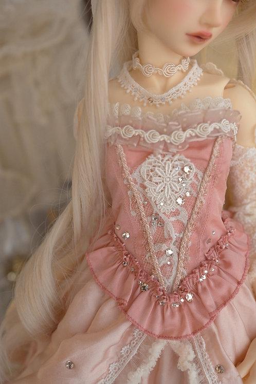 [Leonora]Rococo Pink ビスチェ