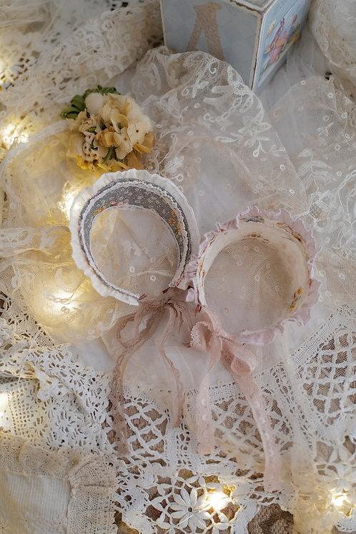[Paulette]ヘッドドレス(white)
