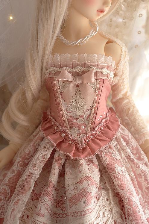 古いバラのお洋服 ビスチェ単品