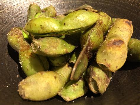 丹波産黒枝豆の塩焼き