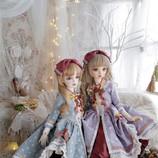 [Paulette]blue & lilac