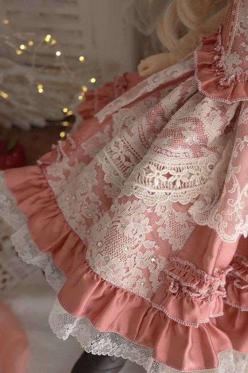 古いバラのお洋服 スカート単品