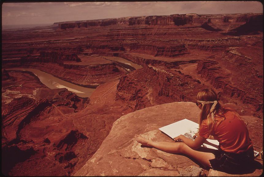 Monument Valley, Navajo Nation, UT, 1971.