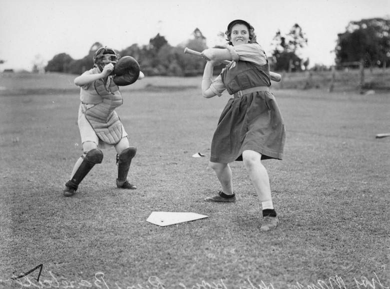 Lillian (Left) 1959.