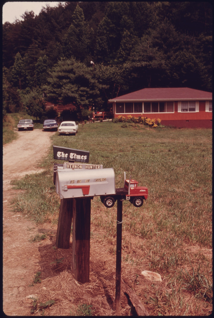 Agloe, New York, 1969