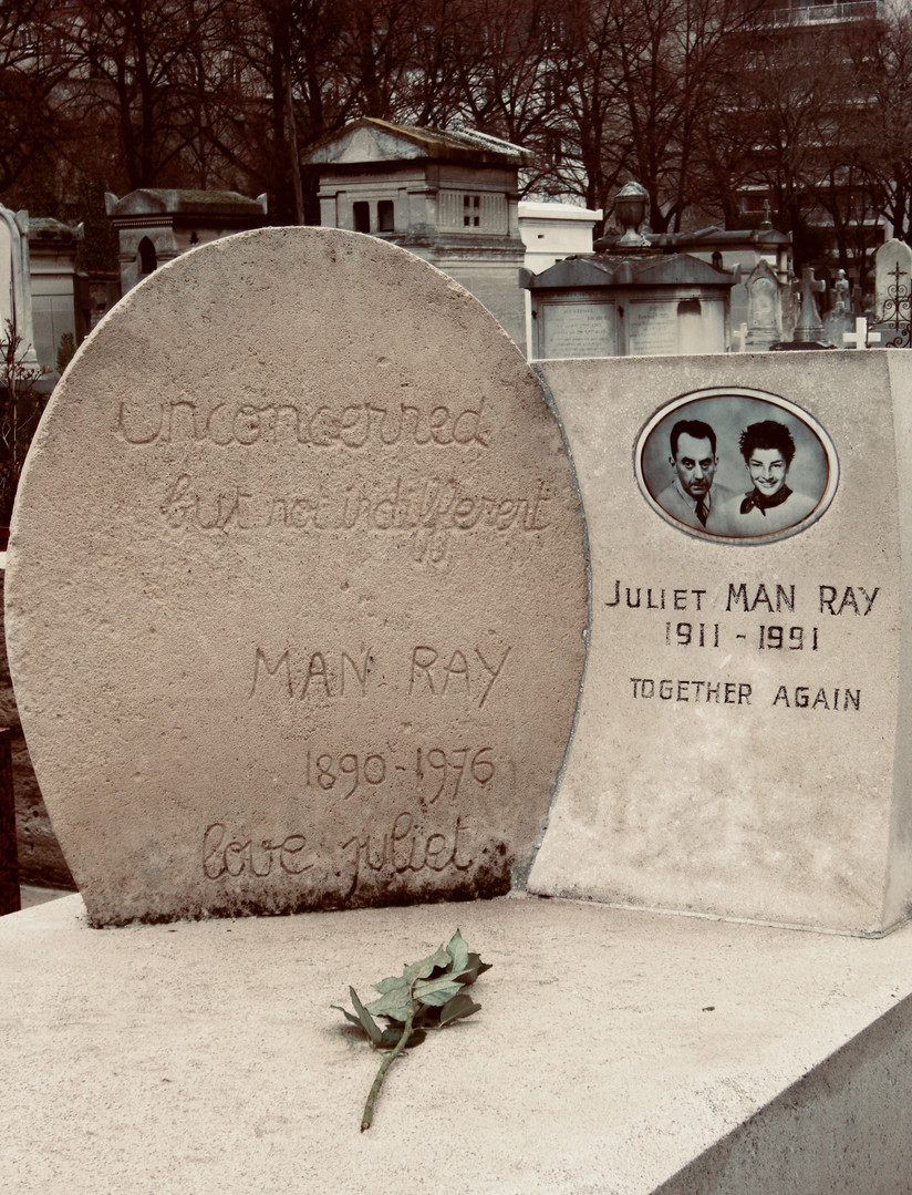 Man Ray, 1968.