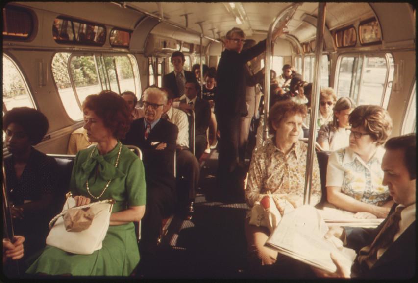 Jackson Heights, Queens, 1965.