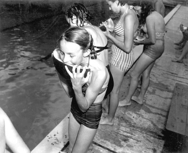 Lillian at the Ohio State Fair, 1951.