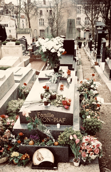 Edith Piaf, 1968.