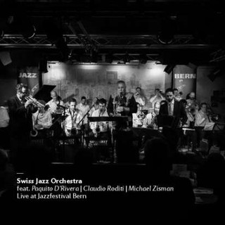 Cover Swiss Jazz Orchestra Live At Jazzf