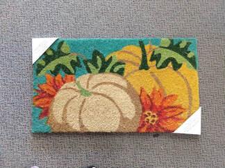 My adorable mat.