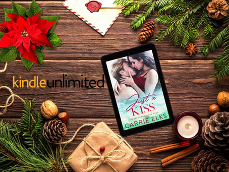 Just a Kiss by Carrie Elks is Live!