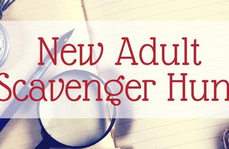 New Adult Scavenger Hunt: Shadowspeak