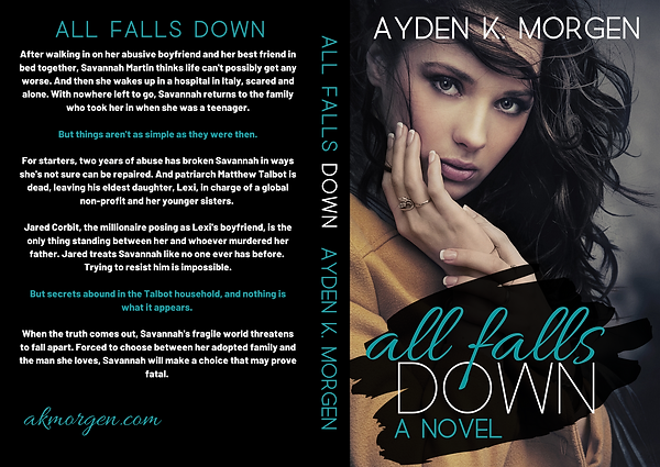 All Falls Down New Cover Wrap 13.06 x 9.