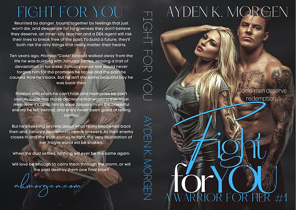Fight for You New Cover Wrap 13.04 x 9.2
