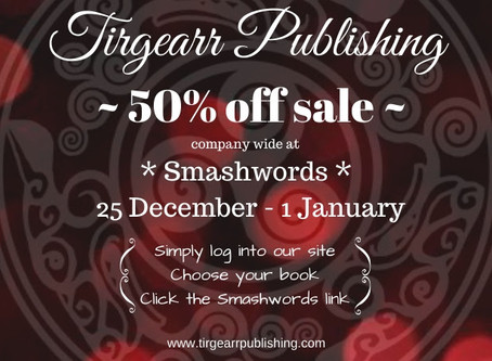 Tirgearr Publishing Sale!