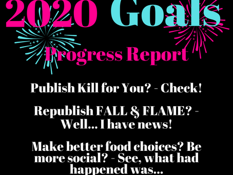 2020 Goals: Progress Report