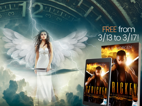 Celebrate Friday the 13th with a FREE paranormal romance!