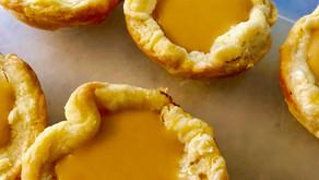 Blood Orange Curd Tartlets