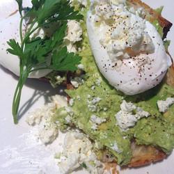 Best smashed avocado